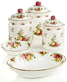 Old Country Roses Serveware Collection