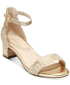 Women's Amber Block-Heel Sandals