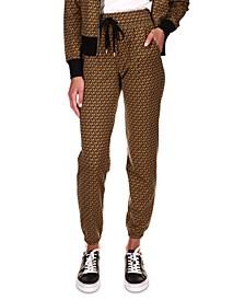 Printed Jogger Pants, Regular & Petite