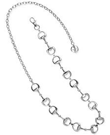 Horse-Bit Chain Belt, Created for Macy's