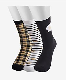 Women's Sheer Liner Sock, 3 Pair