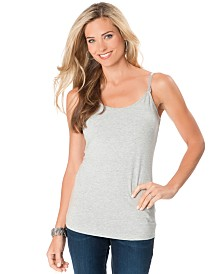 Motherhood Nursing Spaghetti-Strap Nursing Tank
