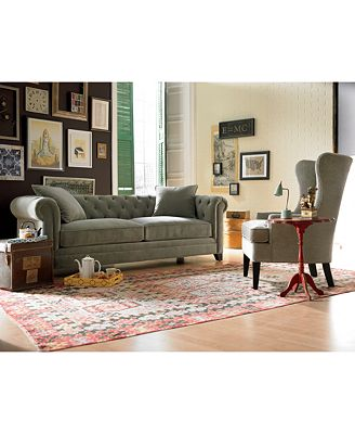 Martha Stewart Collection Saybridge Sofa Created for Macy s
