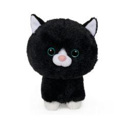 Gund Pet Shop Stray Kitty Cat Plush Stuffed Animal, Black and White, 6