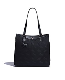 Women's Large Compartment Shoulder Handbag