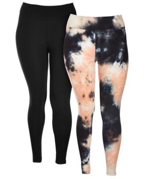 Trendy Plus Size Two-Pack Leggings
