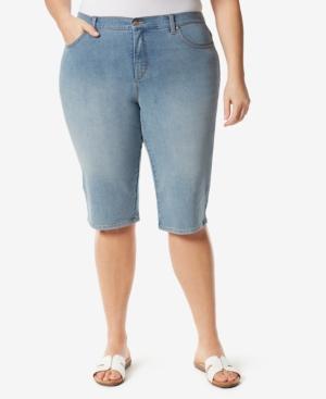 Plus Size Amanda Skimmer Shorts