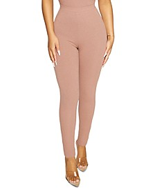 The NW Solid Ribbed Leggings