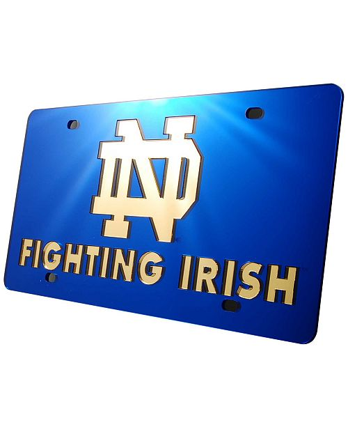 Stockdale Notre Dame Fighting Irish License Plate
