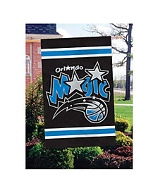 Party Animal Orlando Magic Applique House Flag