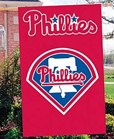 Philadelphia Phillies Applique House Flag