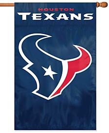 Party Animal Houston Texans Applique House Flag