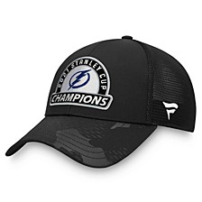 Authentic NHL Apparel Tampa Bay Lightning 2021 Stanley Cup Champ Locker Room Adjustable Cap