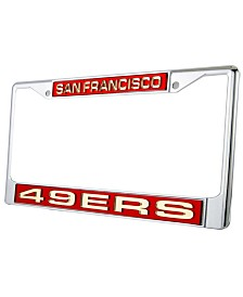 Rico Industries San Francisco 49ers License Plate Frame