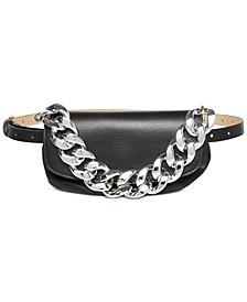 Ruched Clutch Belt Bag