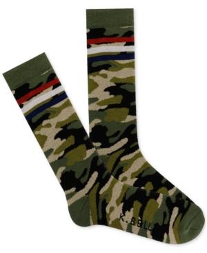 Men's Camo Stripe Socks