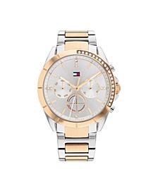 Women's Two-Tone Stainless Steel Bracelet Watch, 38mm