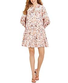 Cotton A-Line Maternity Dress