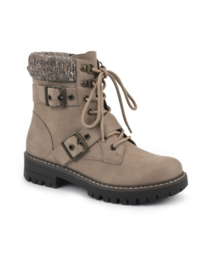Women's Marlee Lace-Up Narrow Calf Boots Women's Shoes