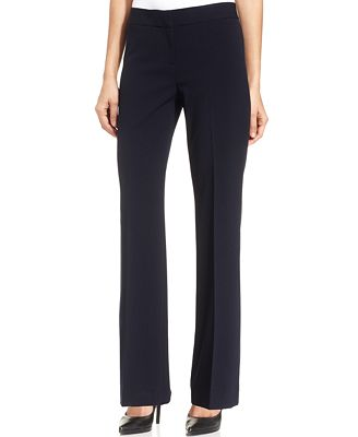 Nine West Flare-Leg Trousers - Women - Macy's