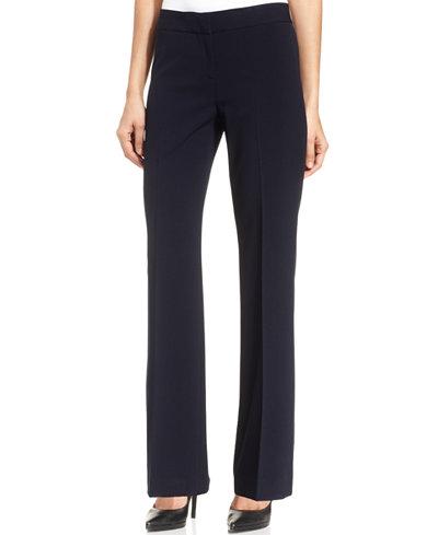 Nine West Flare-Leg Trousers - Women - Macy's