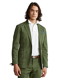 Men's Polo Unconstructed Chino Suit Jacket
