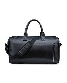 Men's Vegan Leather Duffle Bag