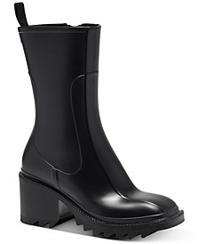 Women's Eddie Lug-Sole Rain Boots, Created for Macy's
