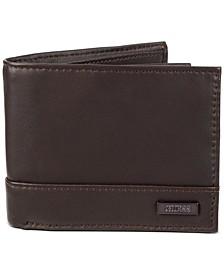 Men's RFID Slimfold Leather Wallet