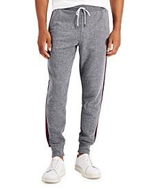 Men's Heathered Color-Block Jogger Pants
