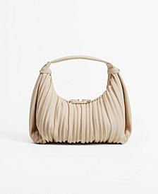 Women's Pleats Baguette Bag