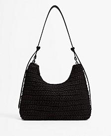 Women's Raffia Braided Bag