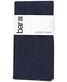 Men's Modern Solid Pocket Square, Created for Macy's