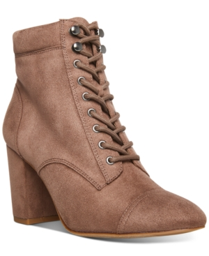 Justinee Lace-Up Booties