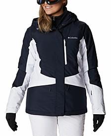 Alpine Diva II Plus Size Colorblocked Ski Jacket