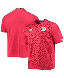 Men's Red Costa Rica National Team 2020/21 Home Replica Jersey