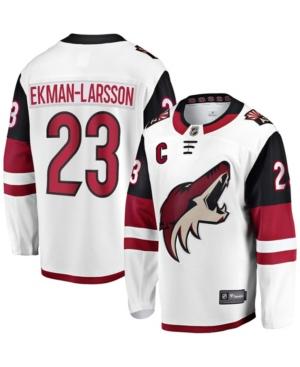 Men's Oliver Ekman-Larsson White Arizona Coyotes Away Premier Breakaway Player Jersey