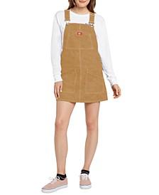 Cotton Corduroy Jumper Dress