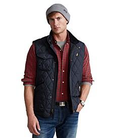 Men's Water-Repellent Quilted Vest