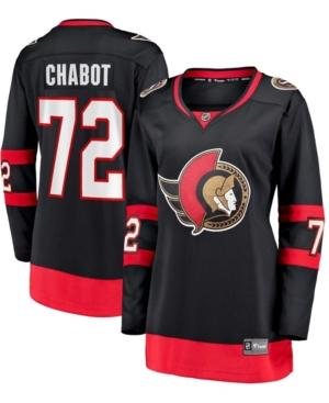 Women's Thomas Chabot Black Ottawa Senators 2020/21 Home Premier Breakaway Player Jersey
