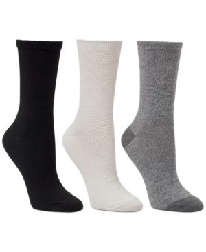 3-Pk. Textured & Classic Crew Socks