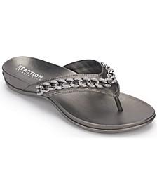 Women's Glam 2.0 Chain Thong Flat Sandals