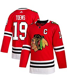 Men's Jonathan Toews Red Chicago Blackhawks Home Authentic Player Jersey