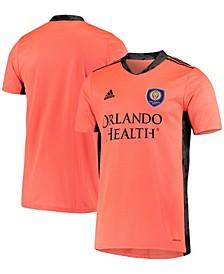 Men's Orange Orlando City SC Replica Goalkeeper Jersey