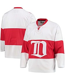 Men's White Detroit Red Wings Authentic Heritage Team Jersey