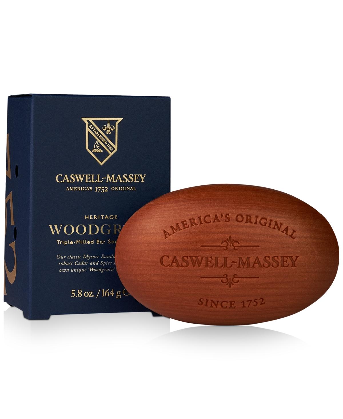 Caswell Massey Heritage Woodgrain Sandalwood Bar Soap, 5.8-oz.