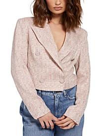 Tula Cropped Tweed Blazer