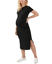Luxe Collection Midi Maternity Dress