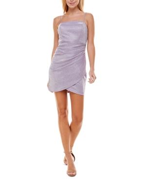 Juniors' Strapless Bodycon Dress