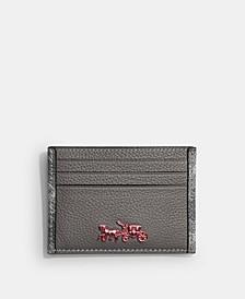 Men's Refined Flat Card Case